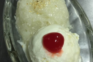 Sweet Sticky Rice with Ice Cream - delivery menu