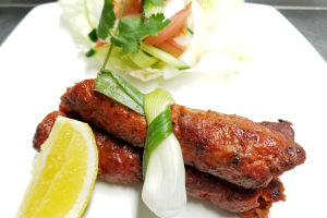 2 Piece Lamb Seekh Kabab - delivery menu