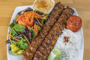 Koobideh Kabob (two skewers ) - delivery menu