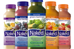 Naked juice - delivery menu
