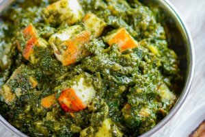 Saag (Spinach) Paneer - delivery menu