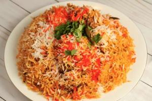 Goat Biryani - delivery menu