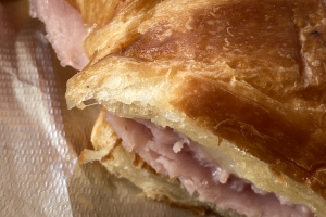 Ham and Swiss on Croissant  - delivery menu