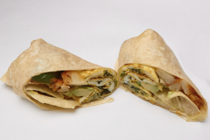 Vegetable Egg Breakfast Wrap - delivery menu