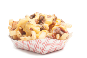 Bacon Burger Cheese Fries - delivery menu