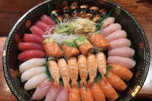 B. Sushi Platter - delivery menu