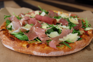 Prosciutto Arugula Pizza - delivery menu