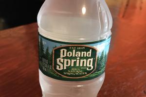 Bottled Water - delivery menu