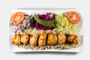 Chicken Shish Plate - delivery menu