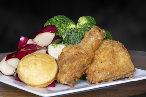 2 Dark Crispy Chicken Combo - delivery menu