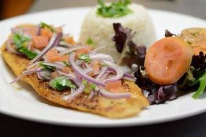 19. Pescado a la Plancha Ceviche - delivery menu