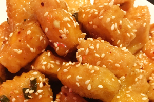 Sesame Tofu - delivery menu