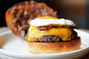 "The ""Infamous"" Brunch Burger Brunch - delivery menu"