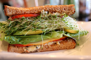 Vegetariana Sandwich Lunch - delivery menu