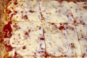 CHEESE SICILIAN PIE - delivery menu