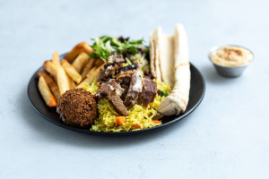Shawarma Dinner Plate - delivery menu