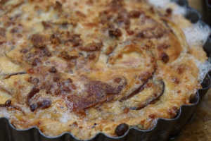 Mini Ham and Sausage Quiche - delivery menu
