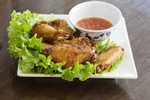 12A. Fried Chicken Wings (6 Wings) - delivery menu