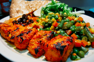 Build Your Own Kabob Plate - delivery menu