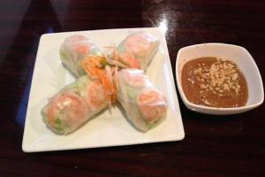 Fresh Shrimp Spring Roll - delivery menu