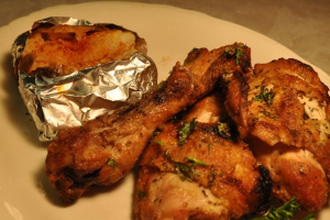 Broiled Chicken - delivery menu