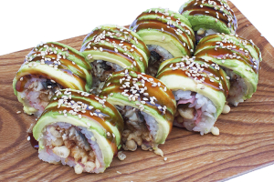 Spicy Caterpillar Roll - delivery menu