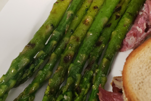 Grilled Asparagus - delivery menu