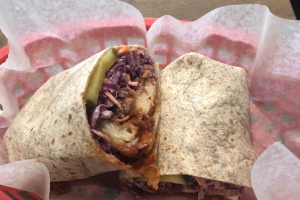 BBQ Chicken Tender Wrap - delivery menu