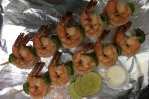 41. Jumbo Shrimp on Stick - delivery menu