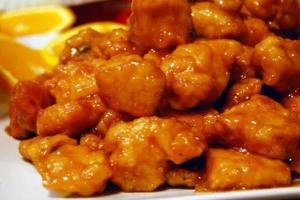 601. Orange Chicken - delivery menu