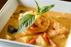 Shrimp Pineapple Curry - delivery menu