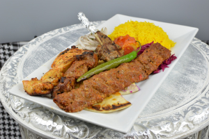 Mixed Grilled Kebabs - delivery menu