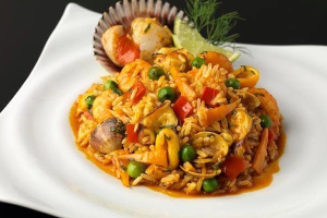 26. Arroz con Mariscos - delivery menu