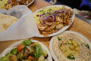 Chicken Shawerma Plate - delivery menu