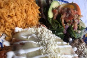 #7. Enchiladas - delivery menu