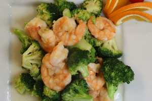 Shrimp with Broccoli - delivery menu