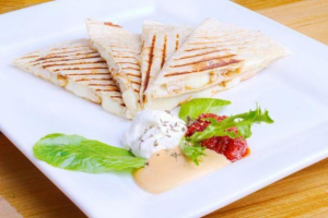 Q2. Grilled Chicken Quesadilla - delivery menu