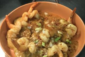 Garlic Shrimp Tostones  - delivery menu