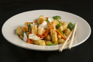 DS2. Sweet Sour Chicken Dinner Special - delivery menu