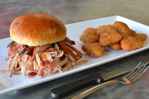 Smoked Pulled Pork Sandwich - delivery menu