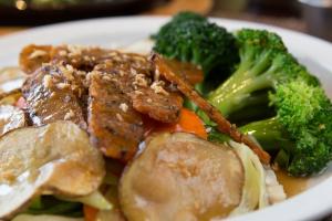 Tempting Garlic Tempeh - delivery menu