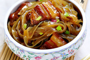 Pork with Clear Noodles - delivery menu