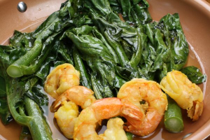 88. Quart of Shrimp with Chinese Broccoli - delivery menu