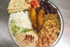Veggie Bean Platter - delivery menu