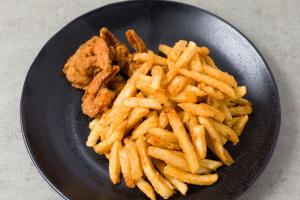 Shrimp with Chips - delivery menu