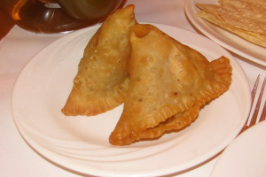 3. Vegetable Samosa - delivery menu