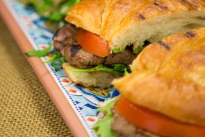 BEEF TENDERLOIN SANDWICH - delivery menu