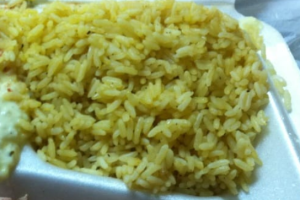 Seasoned Yellow Rice - delivery menu