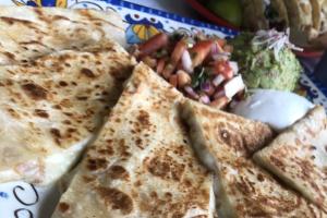 Quesadilla Azteca - delivery menu