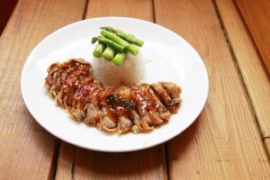 Crispy Duck Dinner ** - delivery menu